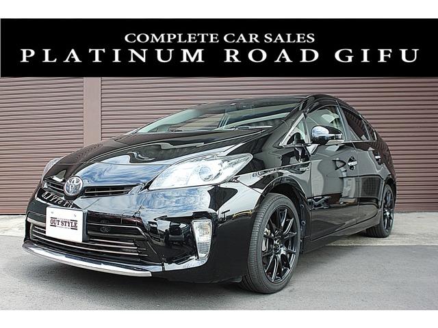 トヨタ プリウス1.8 S コンプリートカー ナビ ETC キーレス (ブラック)